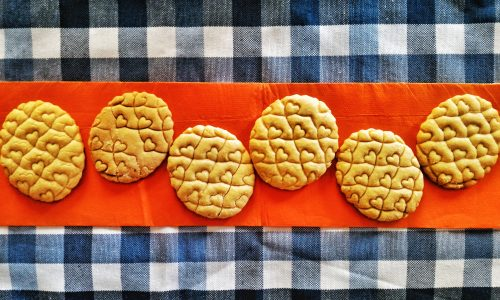 Biscottini al formaggio segnaposto