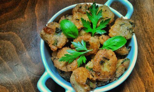 Pepite di verdure junk food del venerdí