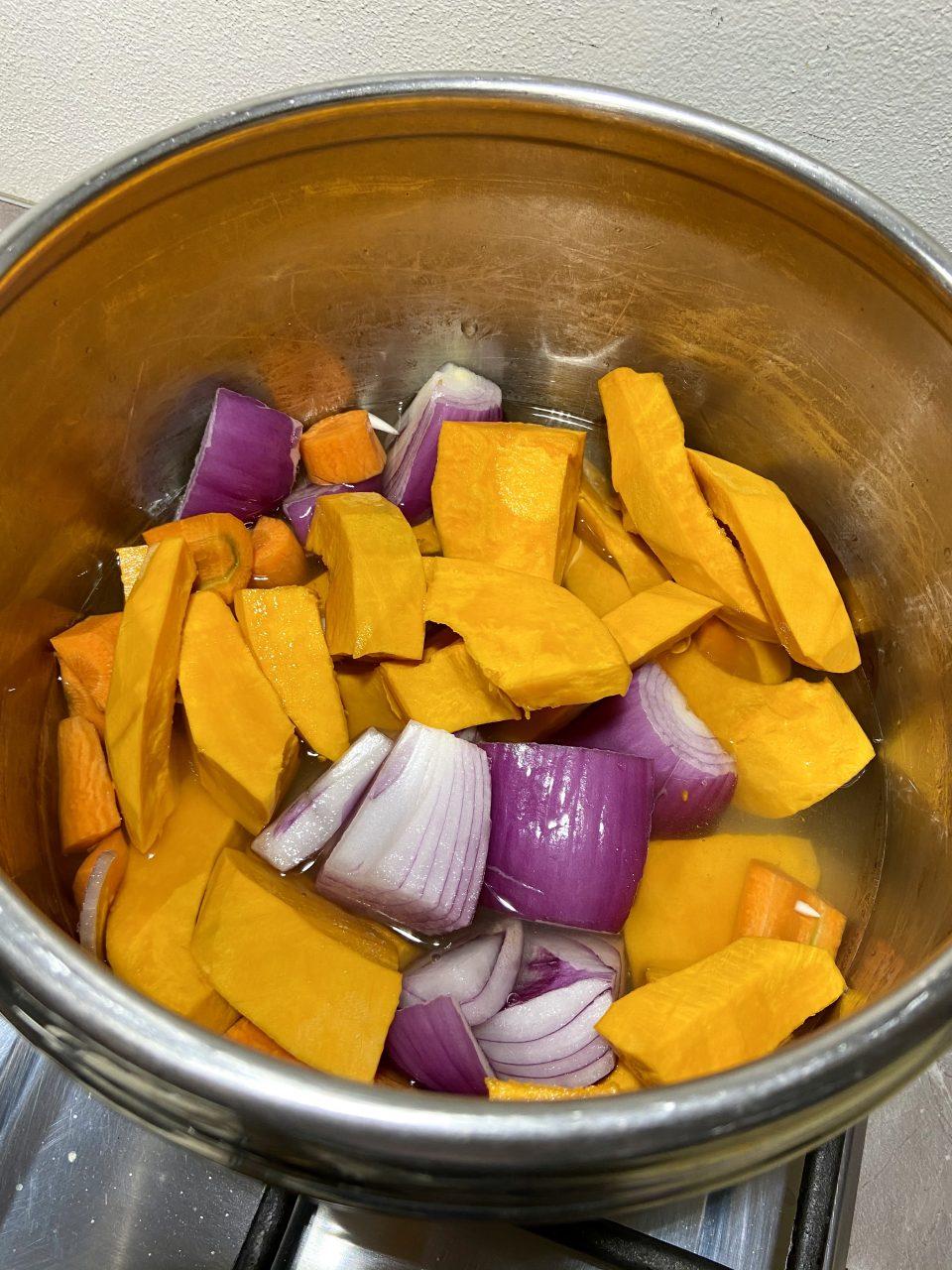 Zuppa arancione