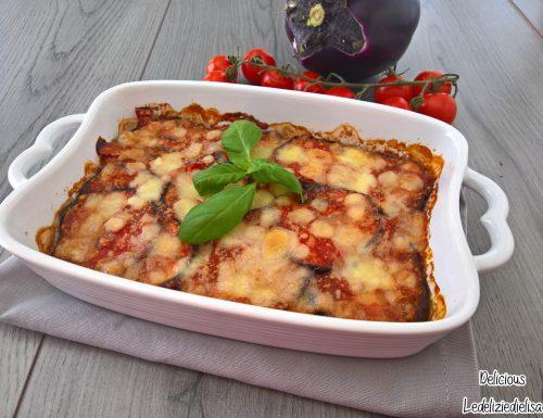 Parmigiana di melanzane grigliate – ricetta leggera