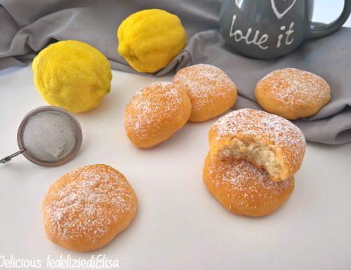 Biscotti morbidi leggeri al limone