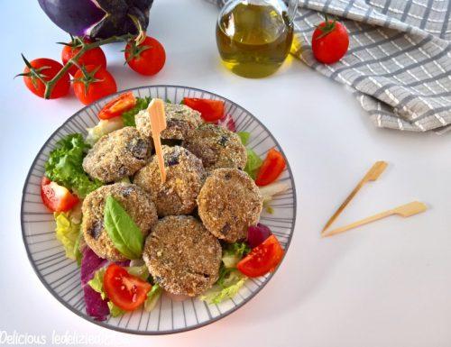 Polpette di melanzane al forno – ricetta leggera