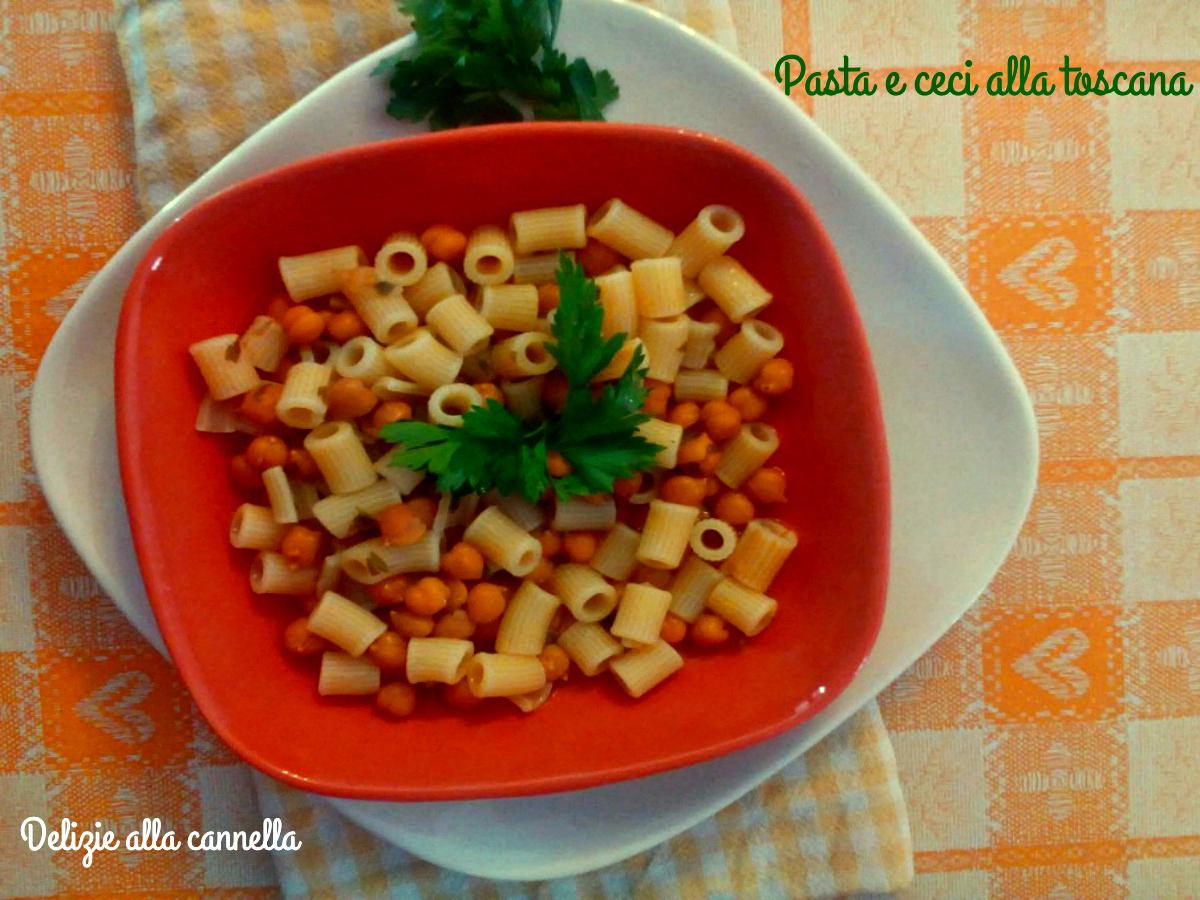 Pasta e ceci alla toscana ricetta tradizionale