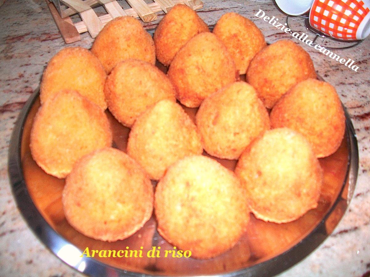 arancini di riso ricetta tradizionale 1
