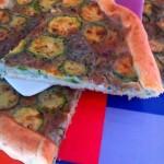 torta zucchine e cardciofi