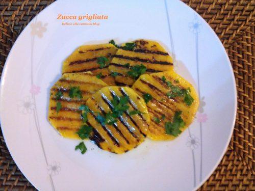 Zucca grigliata ricetta facile e gustosa