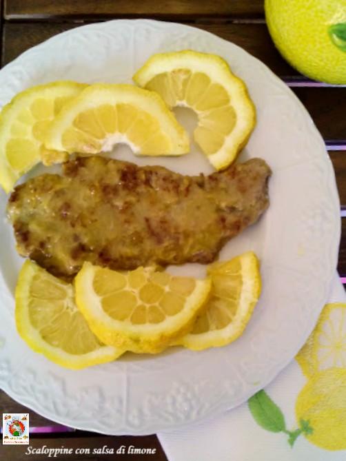 scaloppine con salsa di limone v1