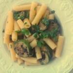 Mezzani piccanti con zucchine