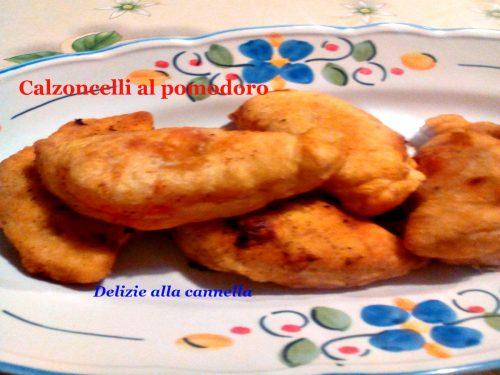 Calzoncelli al pomodoro fritti