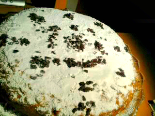 torta di noci e cioccolato 1