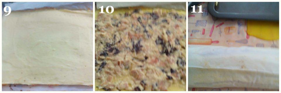 rotolo di patate con radicchio e speck collage 3