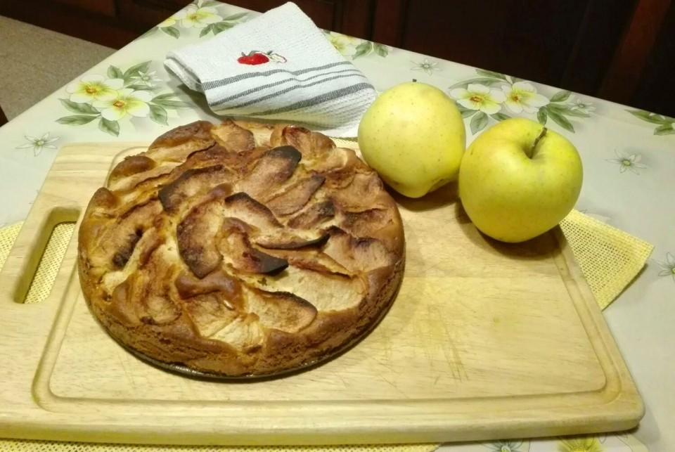 Torta fior di mele 1