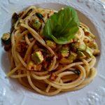 pasta zucchine e basilico