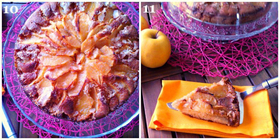 torta di mele soffice collage 4