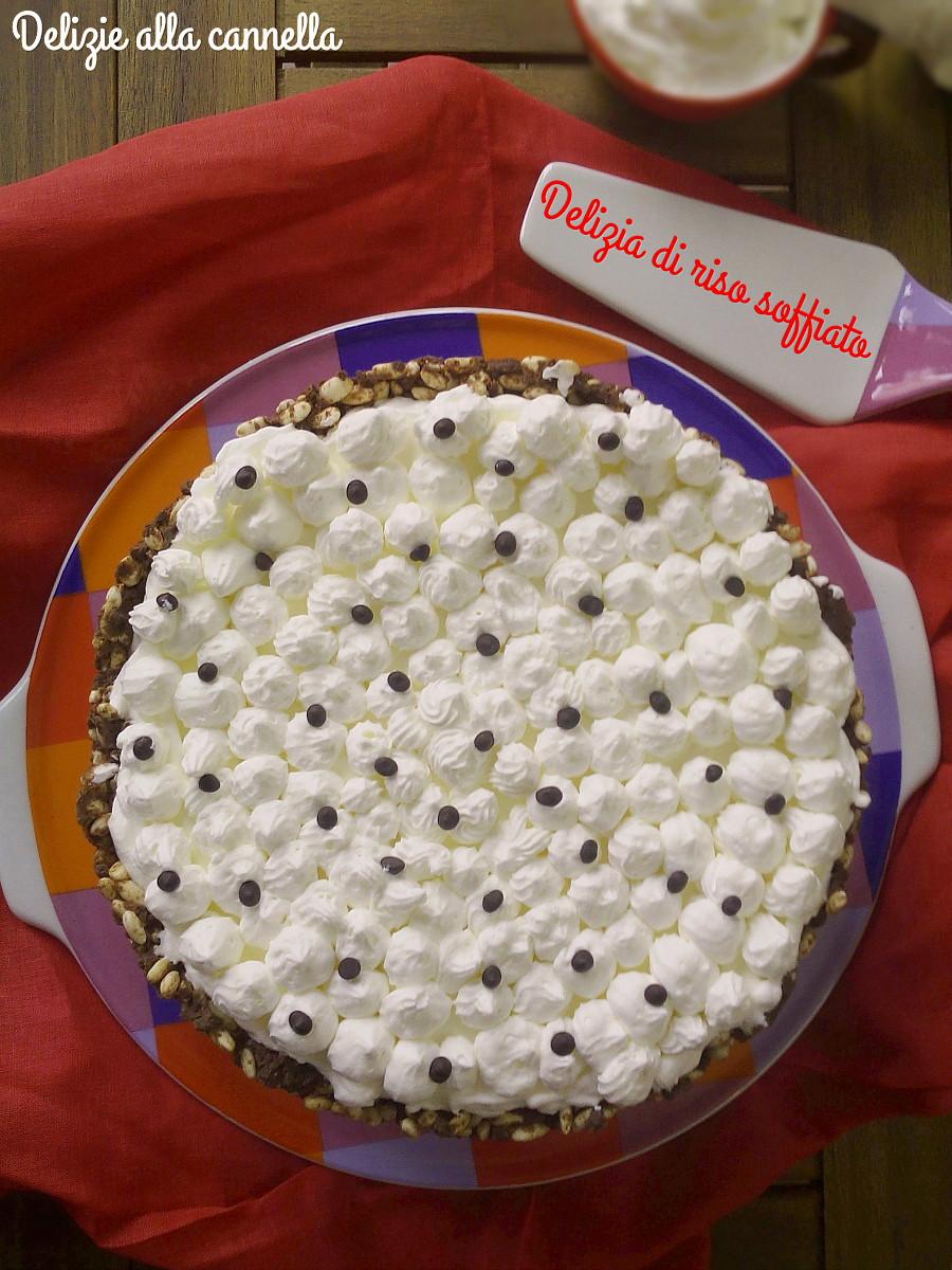 torta di riso soffiato