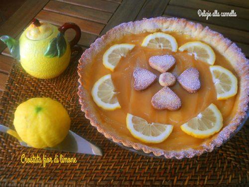 Crostata fior di limone