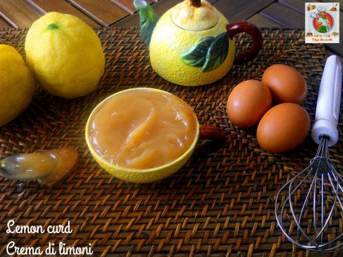 Lemon curd  ricetta inglese originale