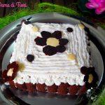 Torta con pavesini e crema - Dama di Fiori