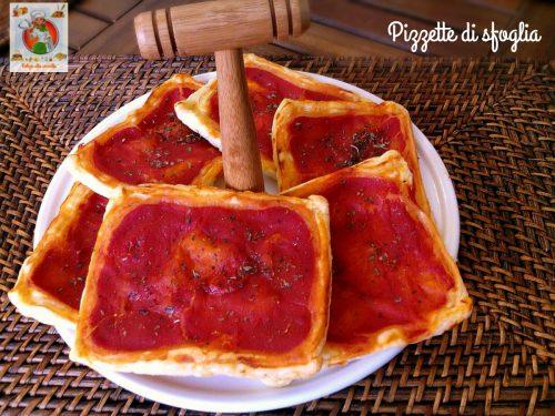 Pizzette di sfoglia ricetta semplice