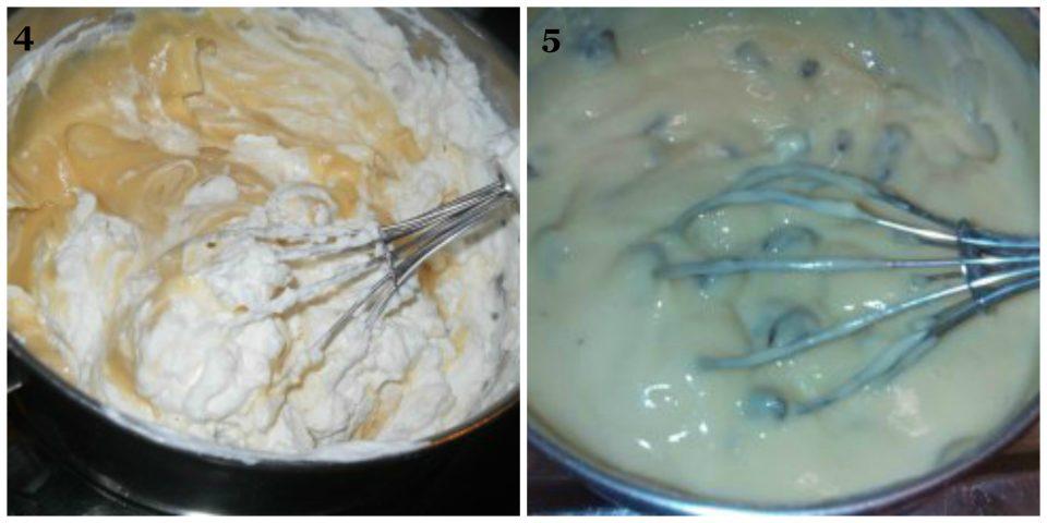 millefoglie con crema al marsala e uvetta collage 2
