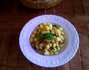 gnocchetti con funghi porcini ricetta
