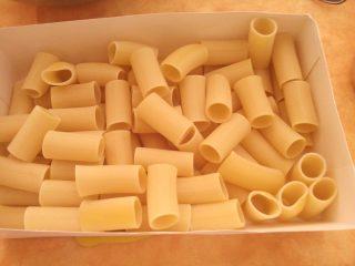 pasta con verdure al forno ricetta paccheri