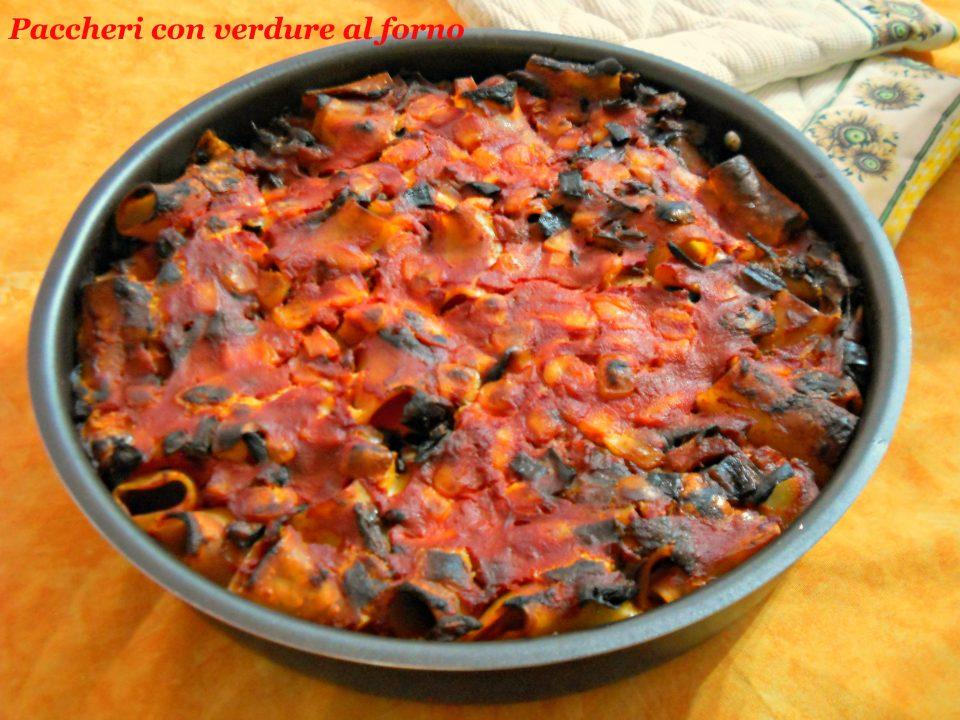pasta con verdure al forno ricetta