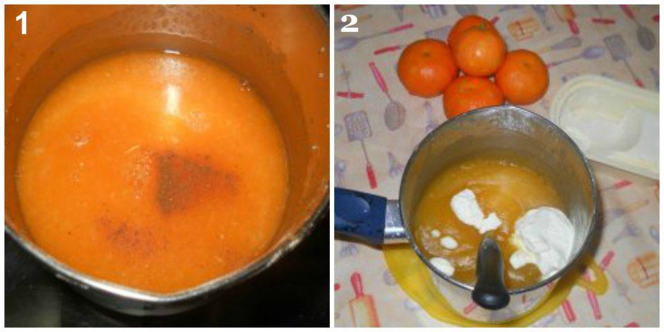crema con mandarino senza uova collage 1