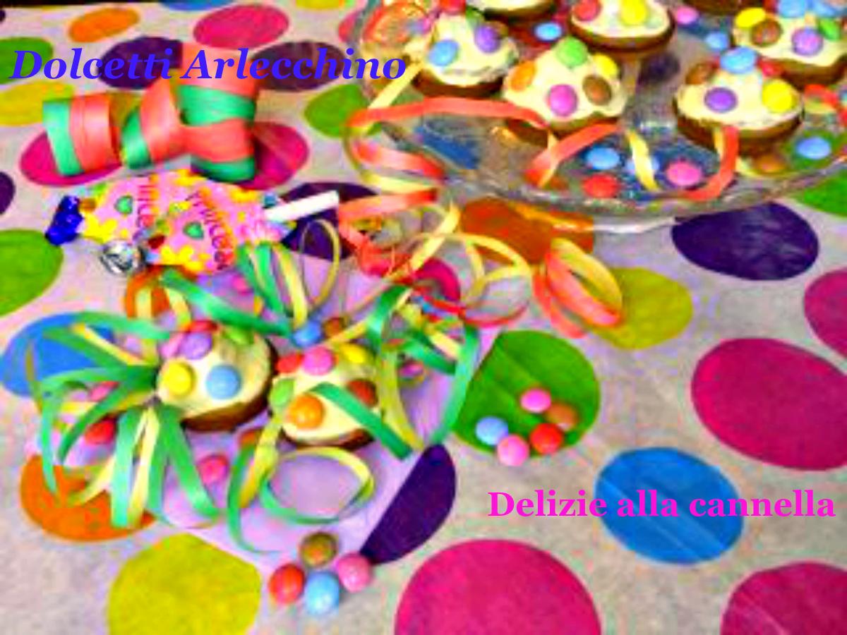 Dolcetti Arlecchino Ricetta Carnevale