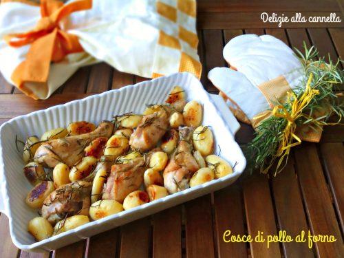Cosce di pollo al forno ricetta tradizionale