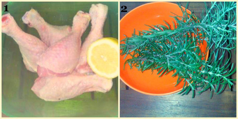cosce di pollo al forno ricetta tradizionale collage 1
