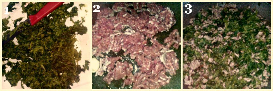 ricetta lasagna con broccoli e carne collage 1