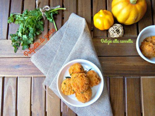 Polpette di zucca e parmigiano