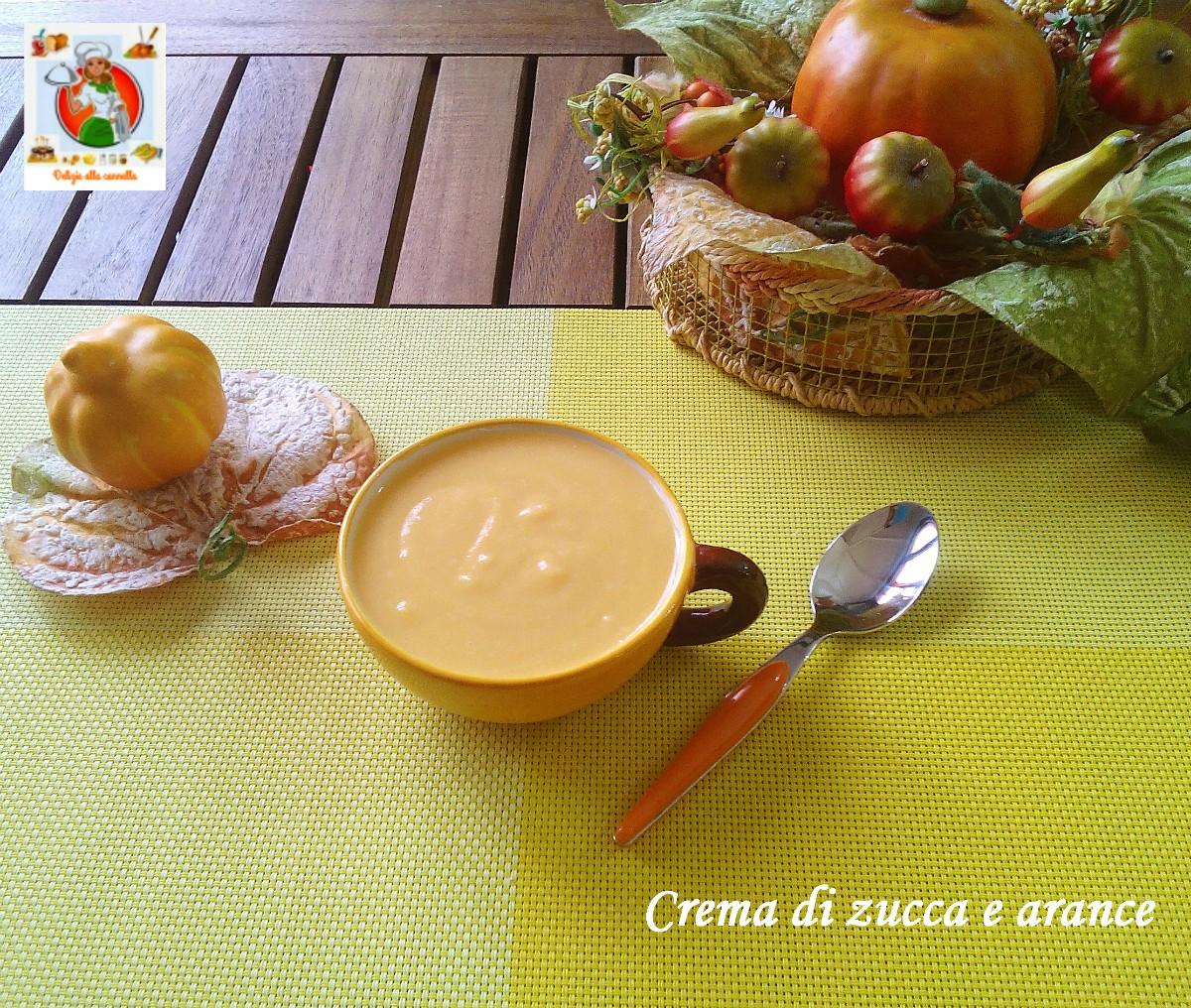 crema di zucca e arance 1