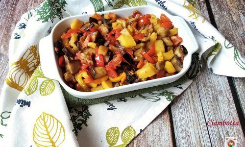 Ciambotta ricetta tradizionale