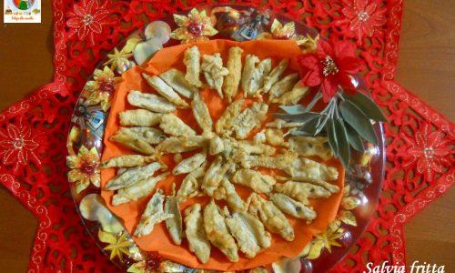 Salvia fritta ricetta gustosa