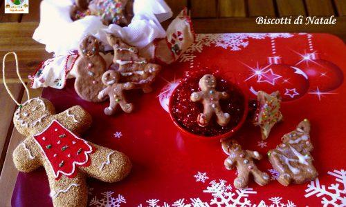 Biscotti di Natale ricetta tradizionale