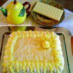 Millefoglie con crema al limone e cioccolato bianco