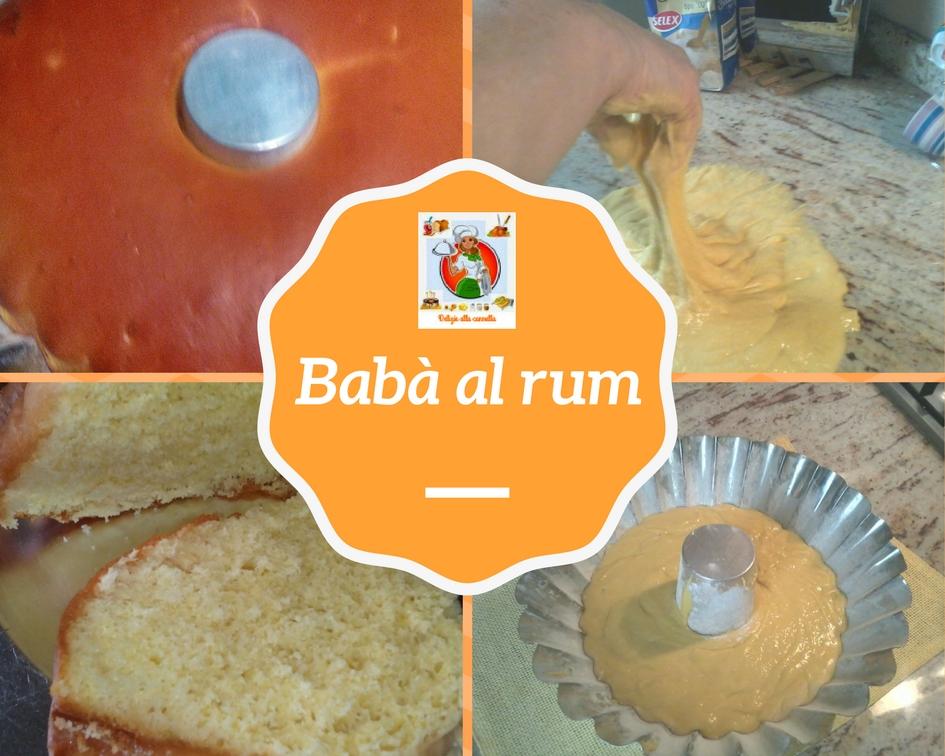 come preparare il Babà al rum