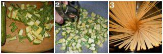spaghetti con zucchine al cartoccio c1
