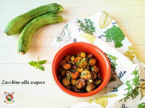 Zucchine alla scapece ricetta tradizionale