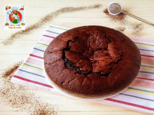 Torta al cioccolato ricetta furba