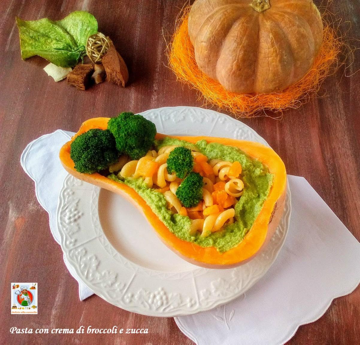 pasta con crema di broccoli e zucca 01
