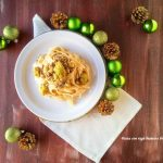 pasta con ragù bianco e broccoletti o1