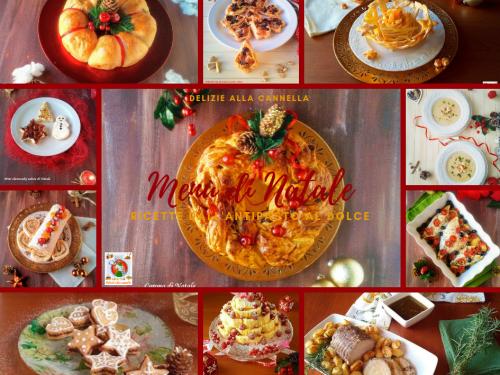 Menù di Natale ricette dall'antipasto al dolce