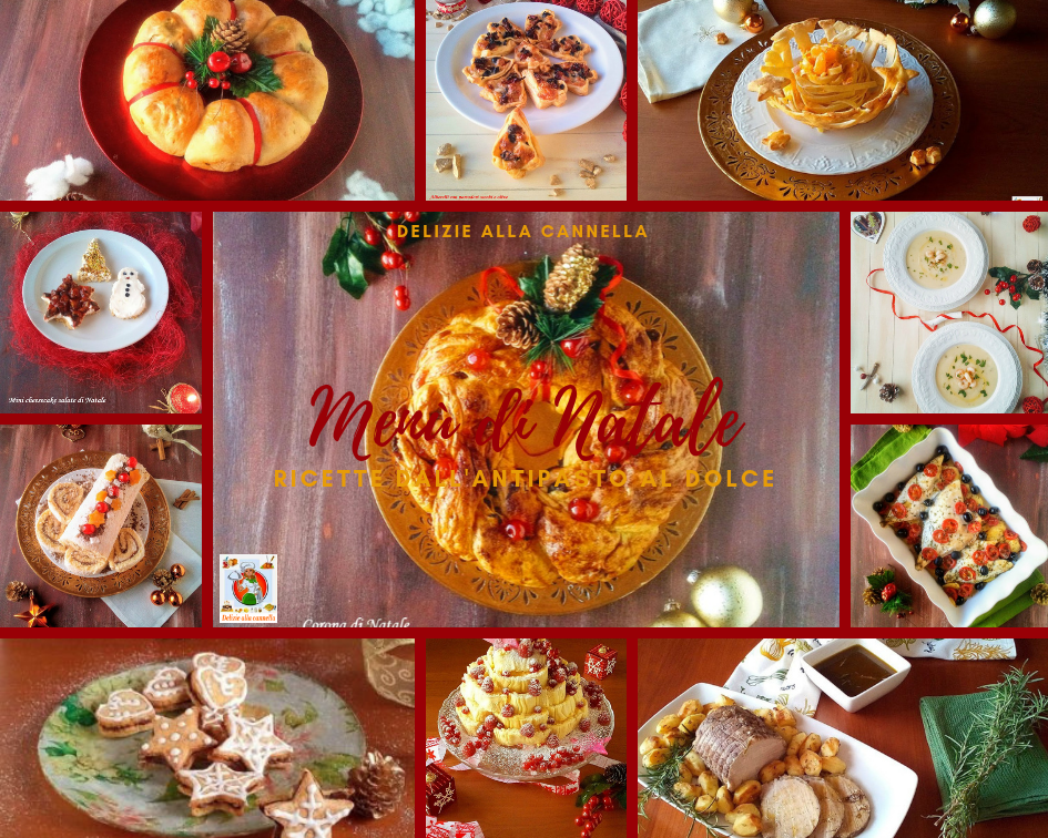 menù di natale ricette dall'antipasto al dolce o1