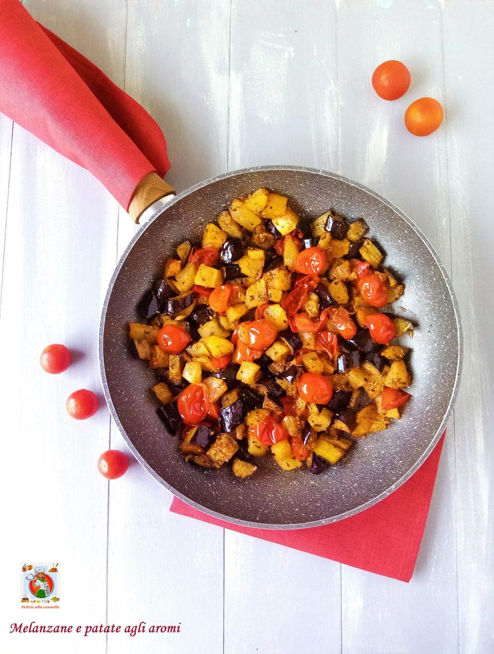 melanzane e patate agli aromi v1
