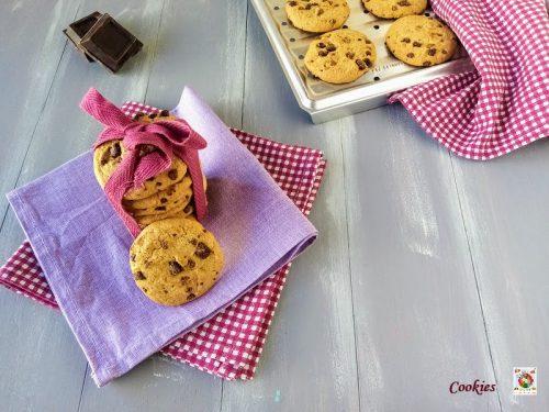 Cookies Ricetta biscotti americani