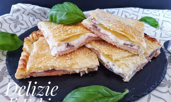 Pizza parigina ricetta veloce – senza pomodoro