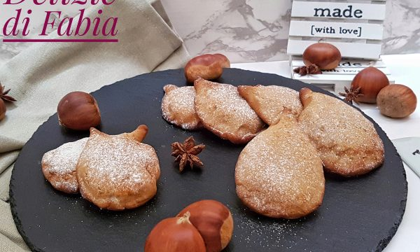 Biscotti alle castagne e nutella- ricetta golosa